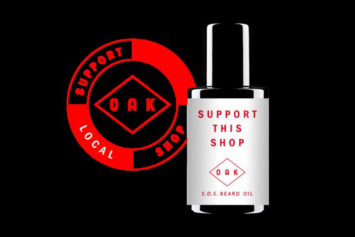 Logo und Produkt zur Kampagne für den lokalen Handel
